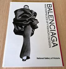 Robyn Healy - BALENCIAGA - MASTERPIECES OF FASHION DESIGN - National Gallery Vic