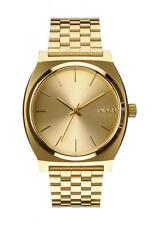 Nixon Men's Gold Tone Steel Bracelet & Case Quartz Analog Watch A045511