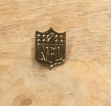 NEW NFL National Football League GOLD Colored Shield Logo Pin FREE SHIPPING!