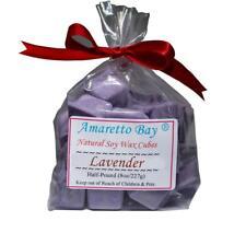 Lavender Soy Candle Wax Melts - 8 OZ  Bag - 16 Wax Disk Chunks Wax Tarts