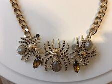 Philipp Plein Necklace Gold Spider