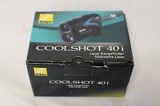Nikon Golf Laser Rangefinder - Coolshot 40i (Black)