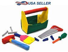 Kids Learning Construction Play Set Children Career Soft Developmental Cloth Toy
