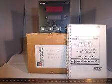 West 4200 1/4 din configurable pid contrôleur de température 90-264 vac relais ssr