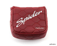 New For 2017 - TaylorMade Golf Spider Tour Red Putter Head Cover
