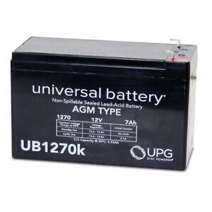 NEW UPG UB1270 12V 7AH SLA Battery Replacement for CyberPower CS24U12V