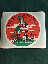 Vintage AIRLINE STICKER...Wheaties...Resort Airlines...nice!!