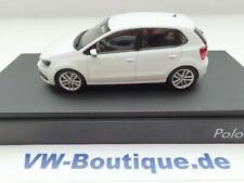 + VOLKSWAGEN VW Polo 5 6C1 in 1:43 von Herpa  4 Türen weiss ORIGINAL  NEU