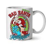 Bad Santa Sexy NEW White Tea Coffee Mug 11 oz | Wellcoda