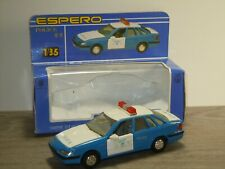 Daewoo Espero Police - Kingstar Toy Mini Car Korea 1:35 in Box *41096