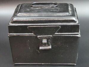 COPPIA di stile antico Heavy Duty Piastra di sollevamento petto Cassone MANIGLIA BOX BH4