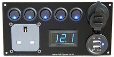 Mercedes VITO Interruptor Panel/Gancho/USB 12V/240V unidad de control de carga