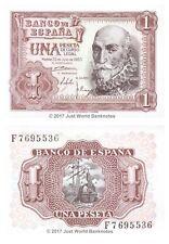España 1 PESETA 1953 P-144 Billetes Unc