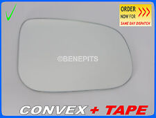 VOLVO s80 2007-2015 Wing Mirror Glass CONVEX + TAPE Right Side #131