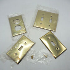 Mulberry Brass Metal Switchplate Cover Lot