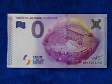 BILLET / Banknote - EURO - SOUVENIR - THEATRE ANTIQUE D'ORANGE 2015