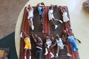 LOOSE NBA MCFARLANES: THUNDER, KINGS, LAKERS, HORNETS, BLAZERS, BUCKS, NUGGETS+