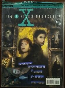 The X Files Magazine #2 Polybagged + Poster & Cards, VF+, Summer 1996
