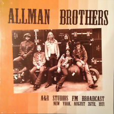 Allman Brothers - A&R Studios 1971 - NEW SEALED 2 LP set 180g import FM broadcas