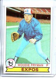 1979 TOPPS WOODIE FRYMAN (NM-NM/MT) @@