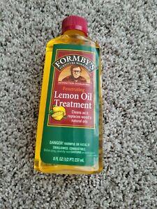 Form-bys Lemon Oil Wood Furniture Treatment 8 Oz New Discontinued