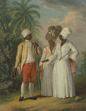 Free West Indian Dominicans Agostino Brunias Inderinen Dominik. Rep B A3 00279