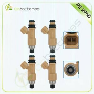 4 Fuel Injectors For Subaru Forester Impreza Legacy Outback 2.5L 16611-AA680