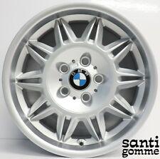 """1 CERCHIO IN LEGA BMW M3 E36 3.2 ORIGINALE 7,5 X 17 """" SILVER 2228150"""