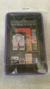"Amazon Kindle Fire 7"" (2015 release) purple case. New"