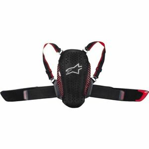 Black/Red Alpinestars Nucleon KR-Y Youth Back Protector