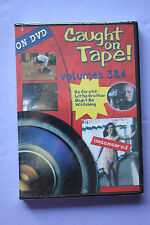 Caught on Tape Vols. 3 & 4 (DVD, 2000) BRAND NEW!!