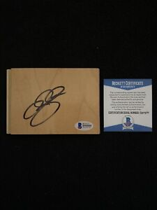 Ray Allen Signed Floorboard COA Beckett #B90880 Autograph