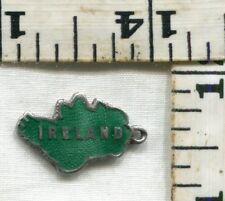 VINTAGE STERLING BRACELET CHARM~#92459~ENAMELED IRELAND~MADE IN IRELAND~$16.00!!