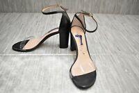 Stuart Weitzman Nearlynude Clear Dress Sandal - Women's Size 8, Black