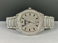 Piaget Polo S Watch Men's 42mm Iced Out 22ct Genuine Diamonds Steel G0A41003