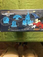Sorcerer Mickey 2017 Car License Plate Tag Metal Walt Disney World Theme Parks