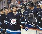 Josh Morrissey Signed 8x10 Photo Winnipeg Jets Autographed COA