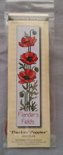 Flanders Poppies Cross Stitch Kit 16ct Aida Band