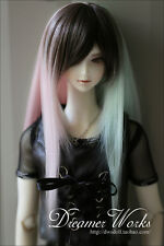 1 3 8-9 Bjd parrucca Dal Pullip Blythe SD DZ DOD DD LUTS Dollfie Multicolor Hair