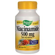 Nature's Way Niacinamide 500 mg 100 Caps