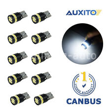 10x T10 194 W5W Canbus Map Dome  Interior LED light Bulb for Audi A3 A5 A4 BMW X