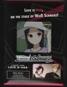 Weiss Schwarz Love Is War English Edition Trial Deck Plus 50 Cards + Playmat