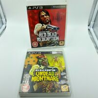 Red Dead Redemption & Undead Nightmare Sony PlayStation 3 PS3 PAL