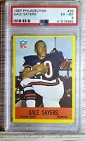 1967 Philadelphia #35. Gale Sayers. PSA 6. HOFer!! (POP 113) HOC85🔥