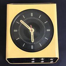 EUROPHON H10 RADIO OROLOGIO IN PLASTICA VINTAGE ANNI 70 DESIGN ADRIANO RAMPOLDI