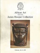 CHRISTIE'S African Art Hooper Coll Tribal Mask Dan Kuba Auction Catalog 1976