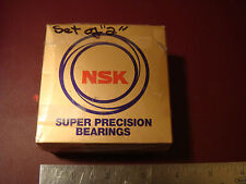 2 (1 pair) NSK Super Precision Bearing 7207A5TRDUMP4Y (OLD7207A5TYDUM-P4)