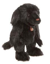 Handpuppe Charlie Bears großer schwarzer Labrador Hund Ruff ca. 45cm groß