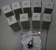 Single (1) GE JAN 2C43 Tubes, NOS/NIB In Sealed Foil Package!