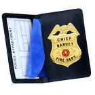 Strong Leather Company - Side Open Badge Case - Duty - 85500-1662 ID Holder